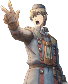 Welkin in Valkyria Chronicles 3.