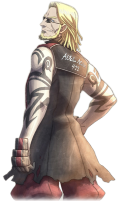 Cedric in Valkyria Chronicles 3.