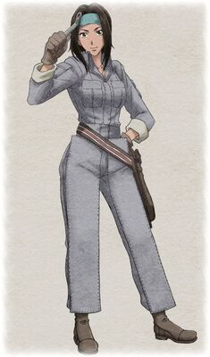 Lavinia in Valkyria Chronicles 2.