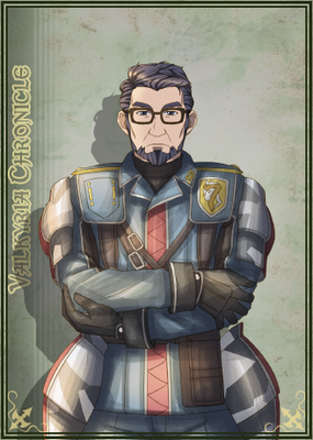 Wavy in Valkyria Chronicles Duel.