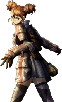 Rosie in Valkyria Chronicles 3.