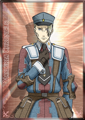 Helmut in Valkyria Chronicles Duel.