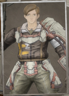 Jimmy Frank in Valkyria Chronicles 4.