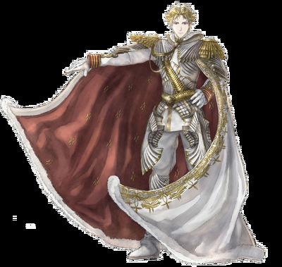 Maximilian in Valkyria Chronicles.