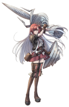 Riela in Valkyria Chronicles 3.