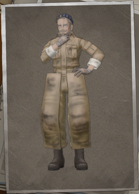 André Dunois in Valkyria Chronicles 4.