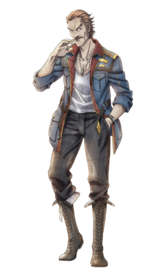 Ramsey in Valkyria Chronicles 3.