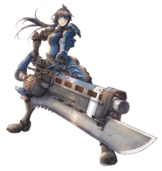 Imca in Valkyria Chronicles 3.