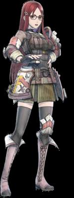 Minerva Victor in Valkyria Chronicles 4.