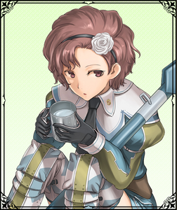 Coleen in Valkyria Chronicles Duel.