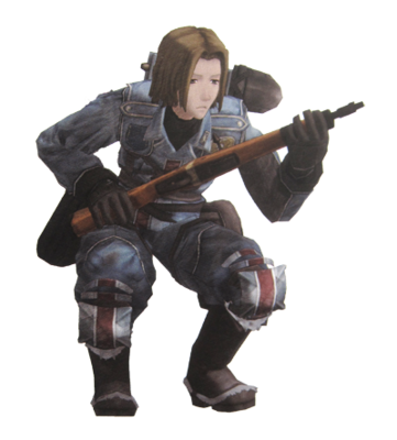 Herbert in Valkyria Chronicles Duel.