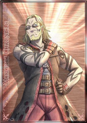 Cedric in Valkyria Chronicles Duel.