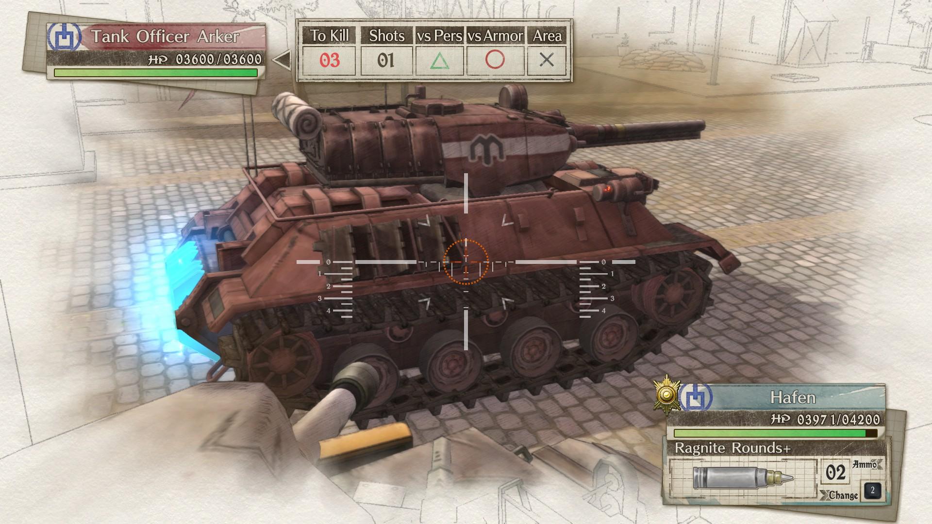 Tank Officer Arker