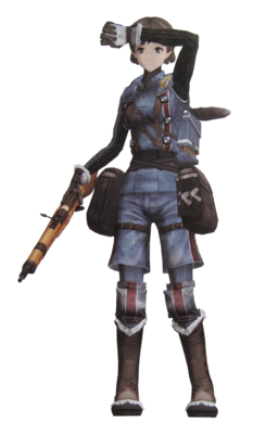 Dallas in Valkyria Chronicles.