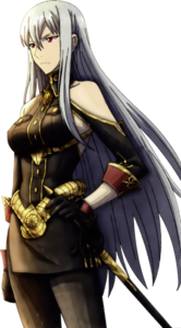 Selvaria in Valkyria Chronicles 3.