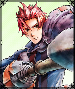 Leon in Valkyria Chronicles Duel.