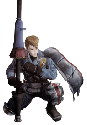 Theold in Valkyria Chronicles.
