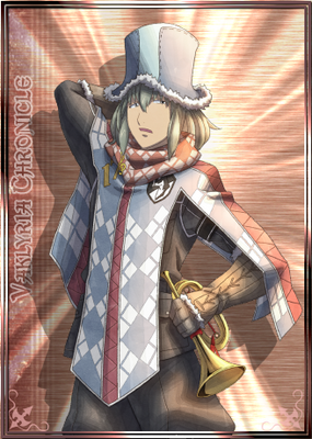 Ilmari in Valkyria Chronicles Duel.