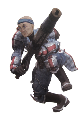 Coby in Valkyria Chronicles.