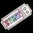 Honorable Plaque Rainbow Ticket (DAIKOKUTEN)