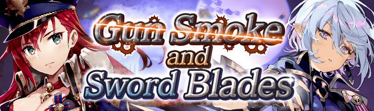 Gun Smoke and Sword Blades