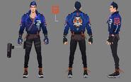 Yoru Character Concept