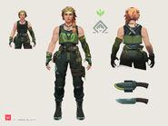 Skye Character Concept