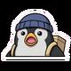 Spray Surprised Penguin