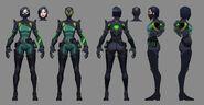 Viper Character Concept