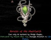 Amulet of the Matriarch