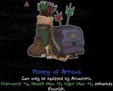 Plenty of Arrows