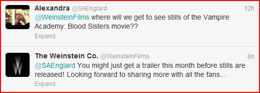 Autumnleaves201/VAMPIRE ACADEMY: BLOOD SISTERS TRAILER TO COME OUT THIS MONTH!