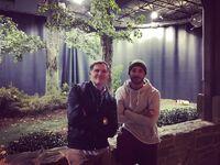 2017-02-03 Kevin Williamson Michael Trevino Instagram