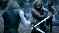 Klaus and mikeal fighting