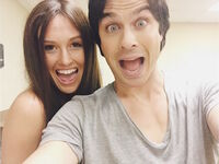 2015-04-15 Ian Somerhalder Joy Spears Instagram