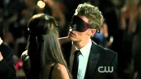 Vampire Diaries 2x07 Katherine Dance With Stefan