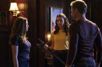 1x03 We're Being Punked, Pedro-Hope-Josie-Alaric
