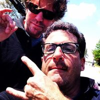 2014-05-23 Mike Karasick Alan Cohen Instagram