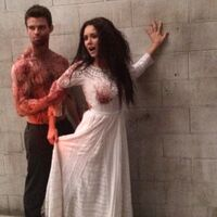 The originals red door behind the scenes 5