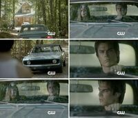 Delena going to lake house