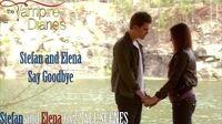 TVD 6x22 Stefan and Elena Say Goodbye