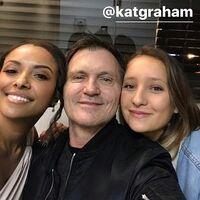 2017-01-28 Kat Graham Kevin Williamson Sophia Cohen