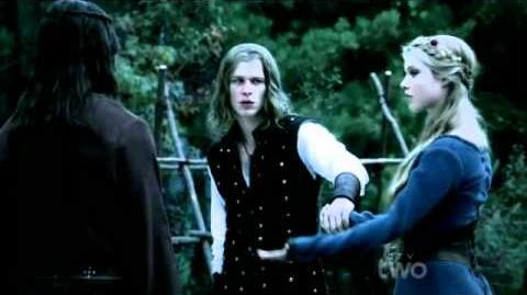 Flashback Scene 8 Klaus, Rebekah and Elijah (The Vampire Diaries S03E08 Oridinary People)