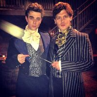 Kol and Klaus Mikaelson