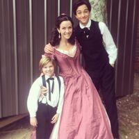 2015-11-19 Luke Judy Gavin Casalegno Annie Wersching Instagram
