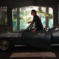 2017-02-09 Ian Somerhalder-Camaro-Instagram