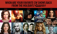 The-CW Winter-2016 air dates