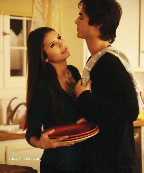 Damon dating does elena when start When do