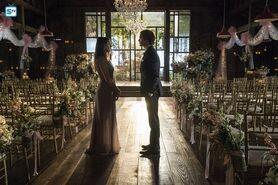 Elena und Damon Hochzeit