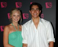 Candice Accola and Tyler Hoechlin